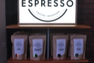 Bradford's finest had a selection of single-origins and its Unione espresso blend on display.