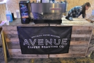 Moving swiftly on, it's Avenue Coffee, all the way from Glasgow!