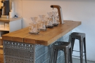 June: the brew-bar, ready for action, at Ealing's Electric Coffee Company.