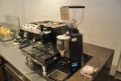 A slightly different view of the espresso machine...