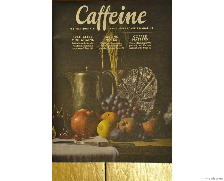 Issue 13: Caffeine Magazine enters its third year with its most stunning cover yet.