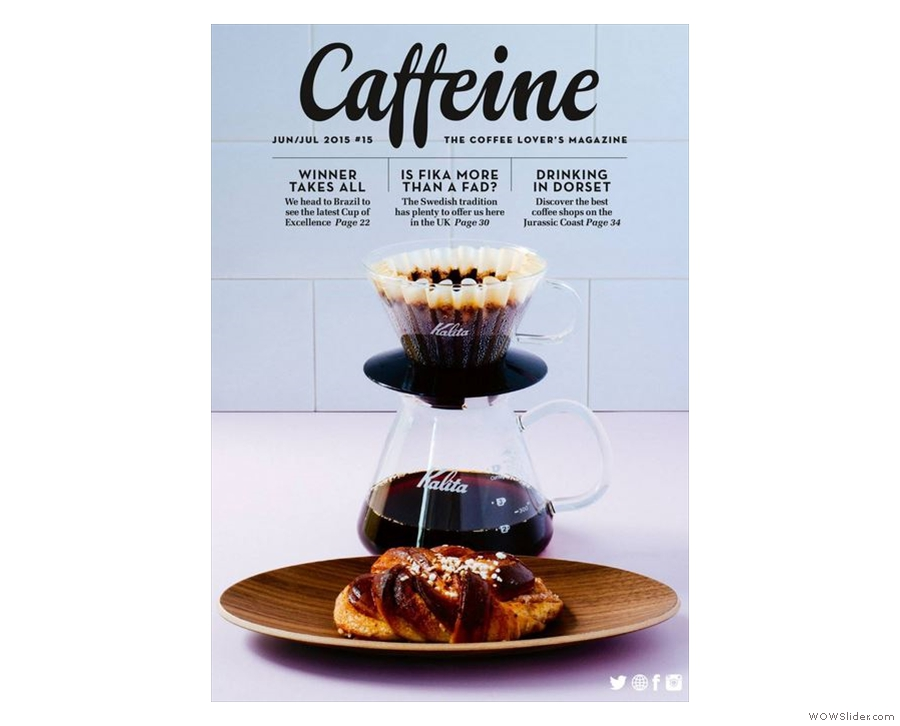Issue 15: Caffeine celebrates the Swedish tradition of 'fika'.
