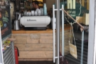 .. and if that doesn't work, take a peek at the La Marzocco! Let's go in, shall we?