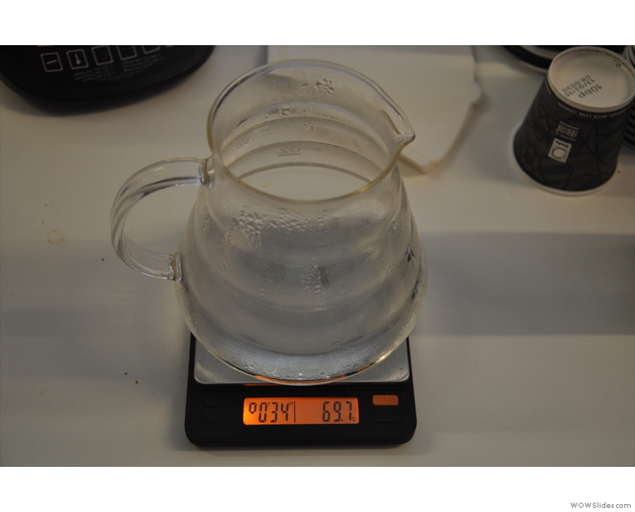 If you want to splash out, try the Brewista Smart Scale from Coffee Hit.
