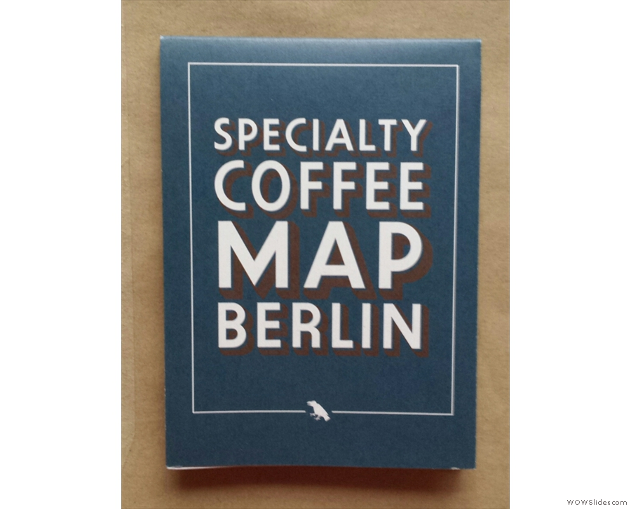 Guides of a different kind: Speciality Coffee Maps, from Blue Crow Media.