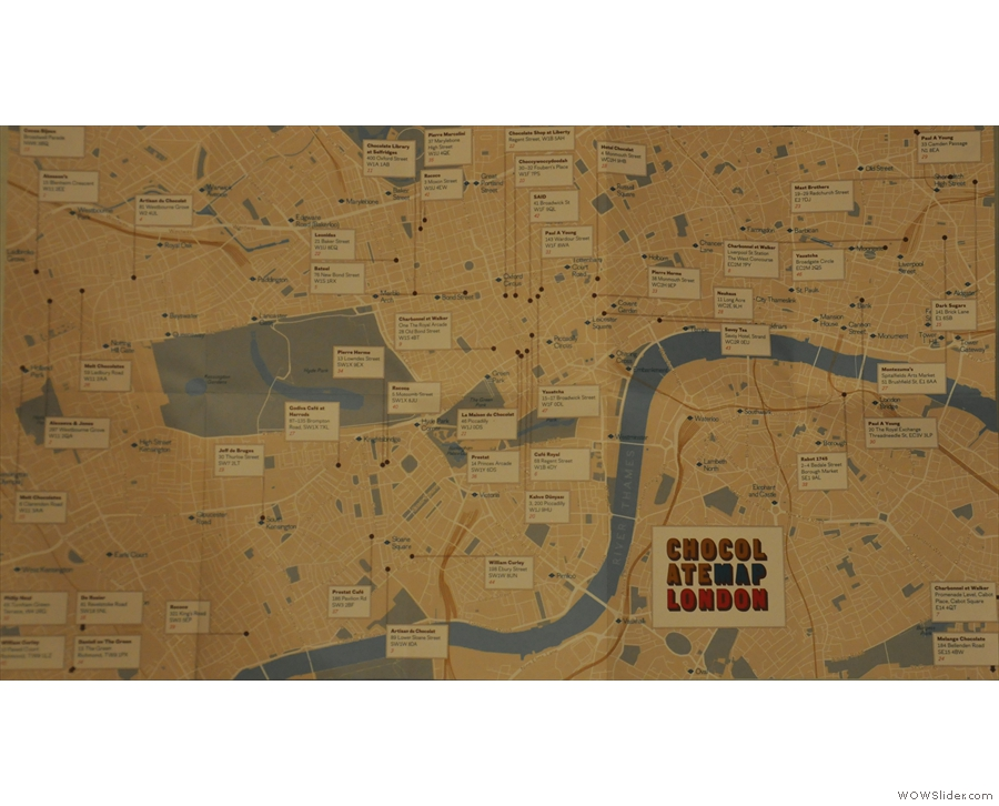 There's even a London Chocolate Map now!