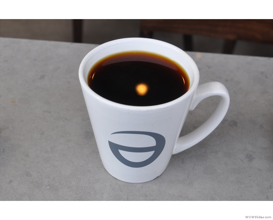 My filter coffee, in a mug.