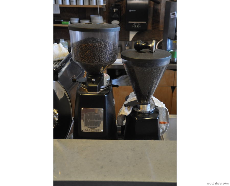 Peregrine has one of the single-origins which are on the filter menu on espresso as well.