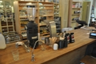 The brew bar.