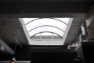 Although a long way from the front, this skylight lets in plenty of natural light at the back.