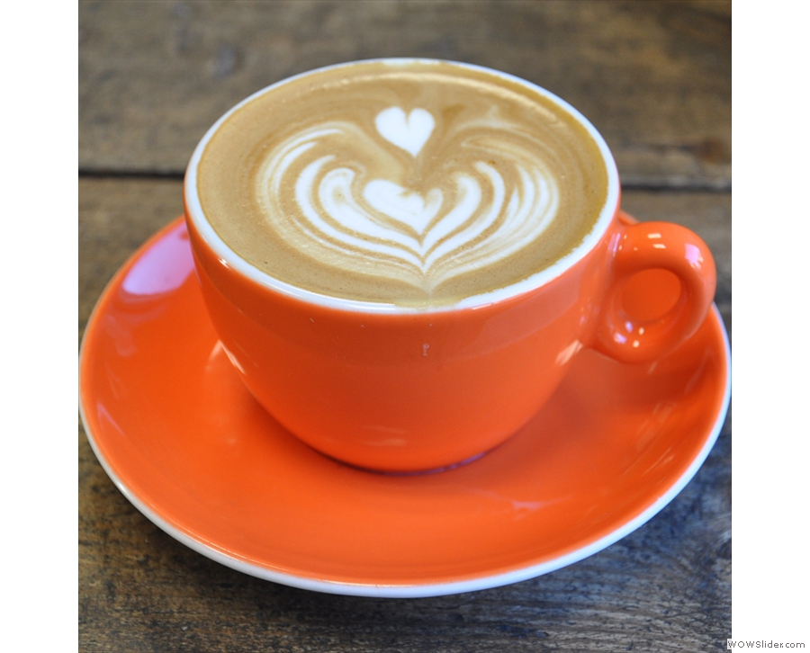 Sheffield's Upshot Espresso, friendly neighbourhood cafe with top-notch speciality coffee.