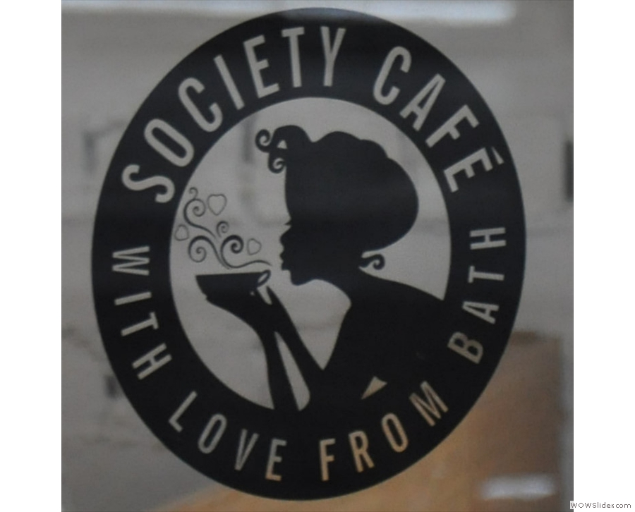 Society Cafe Corridor in Bath, where I had an Aeropress of  Round Hill's Ethiopian Kebado.
