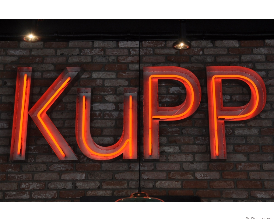 Rows of tables alongside the canal at Paddington Basin? That's KuPP for you.