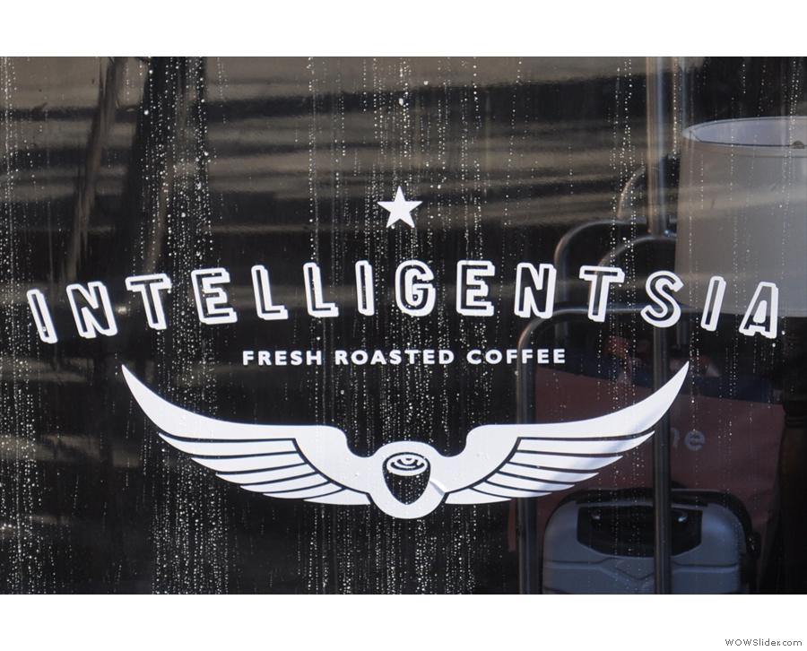 Intelligentsia, High Line Hotel, where I had an amazing single-origin Colombian espresso.