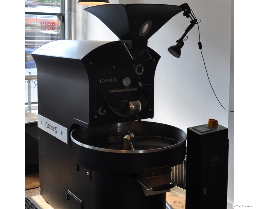 Quarter Horse Coffee Roasters, another coffeeshop/roaster, this time in Birmingham.