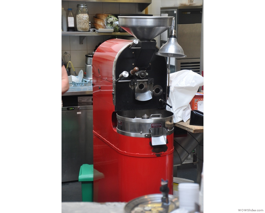 Brighton's Redroaster, a cafe/roaster still going strong since last millennium!