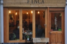 Dorchester's Finca, a cosy spot where the coffee is roasted on the counter!