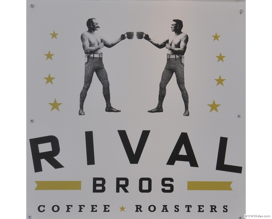 Returning north, and we're at Philadelphia's Rival Bros Coffee Bar.