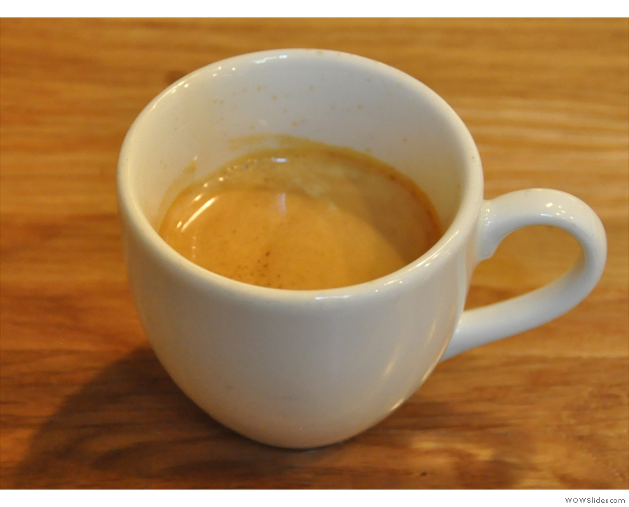 Asado Coffee, Pickwick Place, driven to roast & serve the best coffee possible.