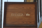 Either/Or in Portland, a true multi-roaster in a land of cafe/roasters.