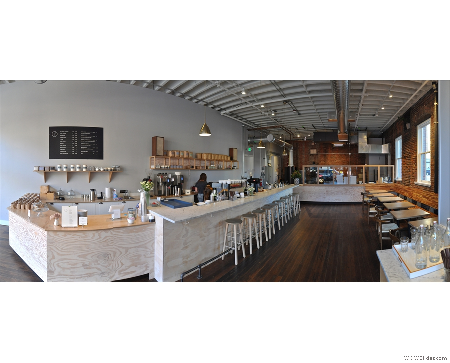 I then  carried on down 1st Avenue to visit Elm Coffee Roasters.