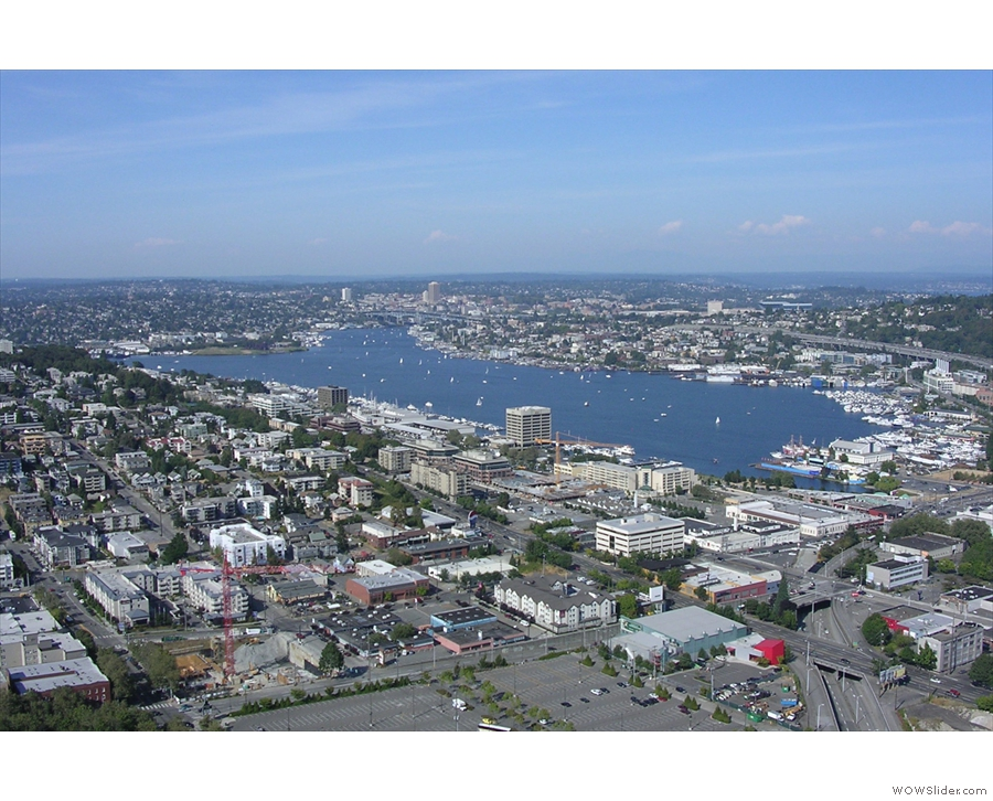 ... and looking north to Lake Union, which will feature later in this gallery.