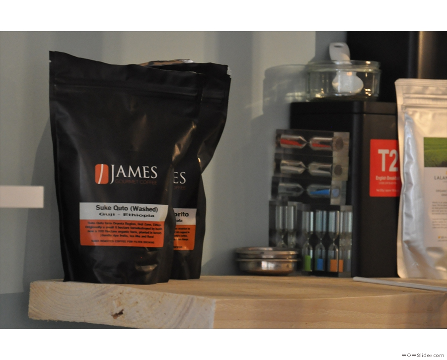 James Gourmet was the official filter coffee while I was there...