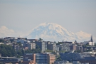 Mount Rainier, of course, my constant companion. Seattlites tell me it's rarely this clear!