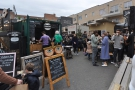 Netil Market, in Hackney, and just inside the gates, it's the green container of Terrone & Co!
