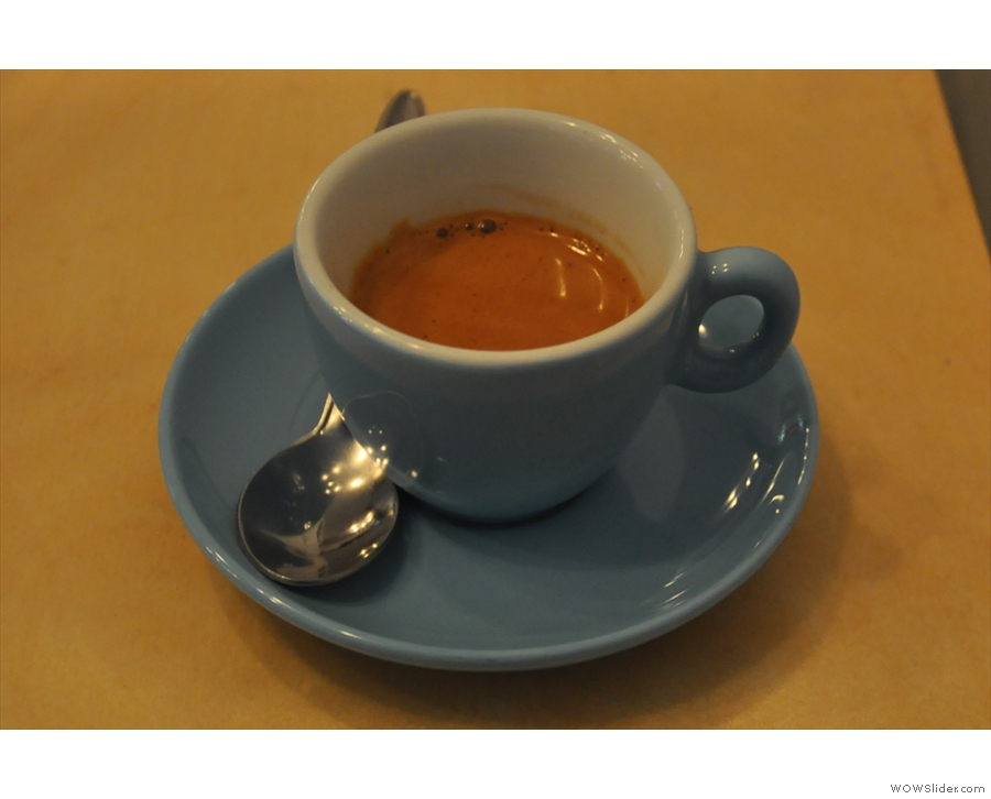 Instead I had a shot of the guest espresso from Foundry.