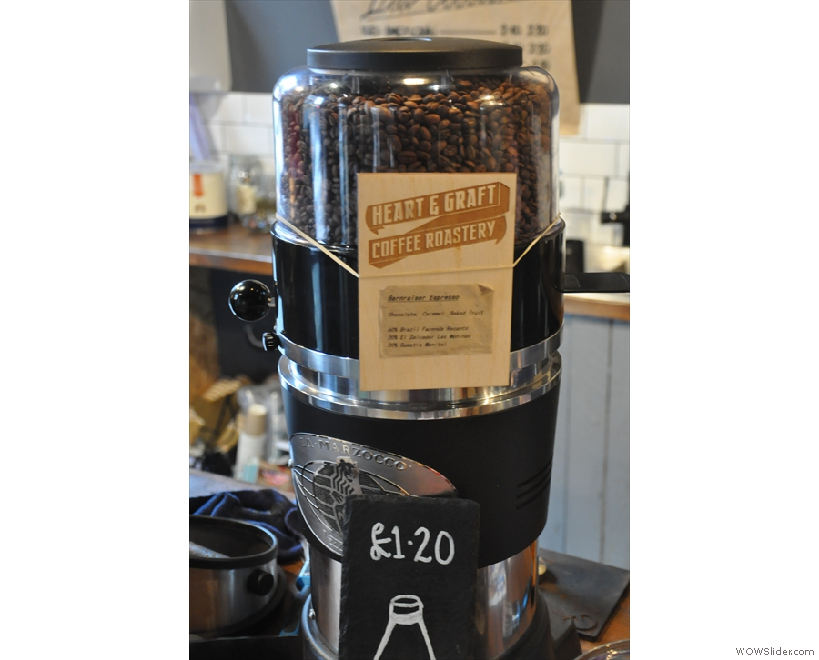 However, as much as I love Heart & Graft's Barnraiser Blend, I fancied something new...