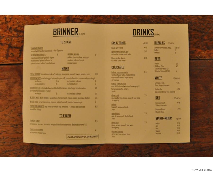 Friday (& Saturday) night is Brinner night (Brinner = BReakfast & dINNER).