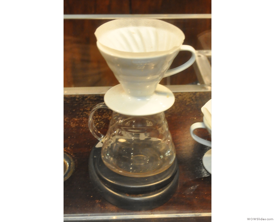 Instead, I went for a V60 of the Agua Blanca single-origin Colombian.