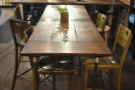 Another view of the table.