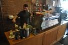 Multi-taking barista.
