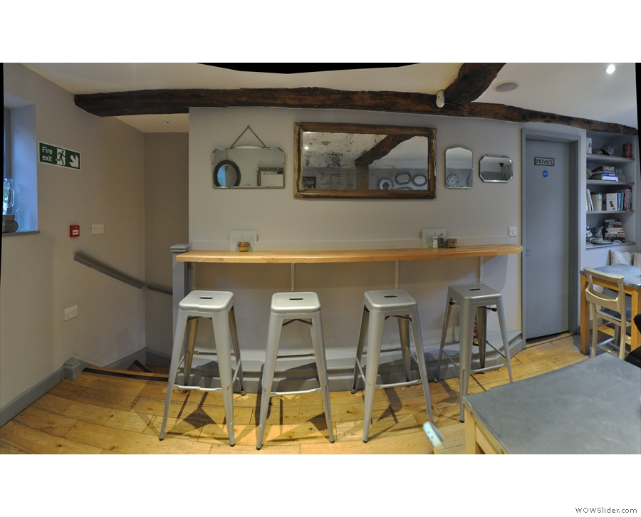 ... along with another four-seater bar, which is another new feature.