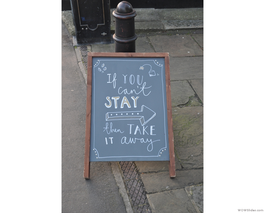 There are also more A-boards. This one makes a very valid point...