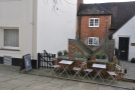 Either way, there's Kalm Kitchen, through the gate. More tables outside I note.