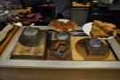 It was late afternoon, so lunch had been cleared away. There were cakes though...