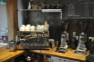 I, however, had come for coffee, Allpress' Redchurch in the main hopper, decaf in the other.