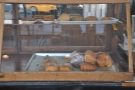 ... and a selection of pastries and cookies on the counter-top...