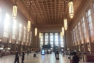 The soaring halls of Philadelphia's 30th Street Station, where I caught my train to Manassas.