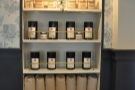 The Shop has plenty of coffee for sale, all of it from Stumptown.