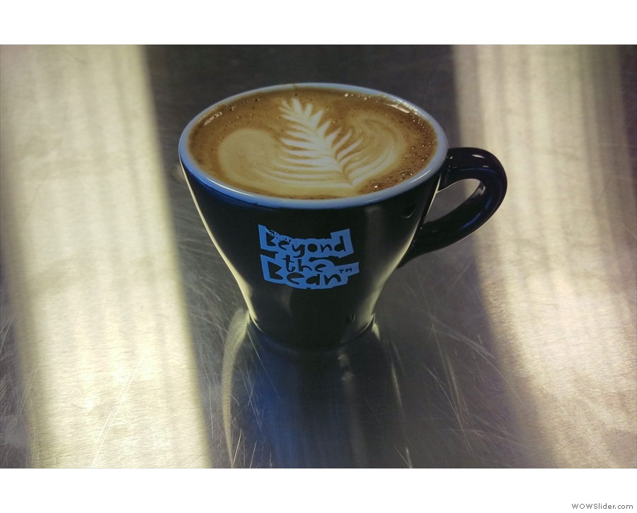 I had an excellent day in Bristol judging the entrants for the Beyond the Bean Bursary, not least because I had lots of lovely cups of coffee made for me!