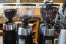 There are three options on espresso: house blend, single-origin and decaf.