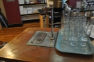 There are lots of nice touchs, siuch as the water fountain on the counter...