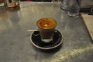 New Harvest is a local roaster & now, a coffee shop & bar as well! I had an excellent cortado.