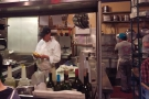A Sicilian-style fish restaurant, it's a tiny spot, where you can sit & watch the chef at work.