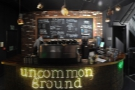 The counter, which is at the heart of Uncommon Ground's operation.