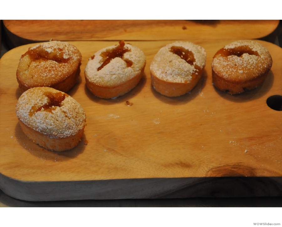... and friands...